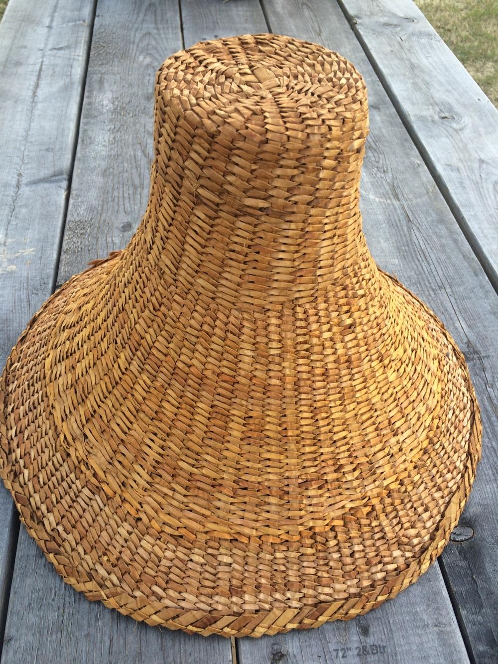 Woven Cedar Hat by Spapium Farm